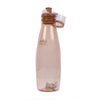Push Button Water Bottle 500ml - Beige (1918)