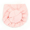 Baby Round Cap For Kids - Pink (RC-010)