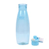 Push Button Water Bottle 500ml - Blue (1918)