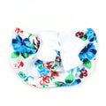 Stylish Bow Round Cap For Kids - White (RC-019)