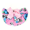 Stylish Bow Round Cap For Kids - Pink (RC-016)