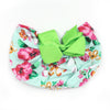 Stylish Bow Round Cap For Kids - Green (RC-015)