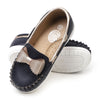 Bow Design Loafers For Girls - Blue (2325-34)