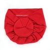 Baby Round Cap For Kids - Red (RC-008)