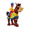 Horse Riding Musical Toy For Kids - Brown (2095)