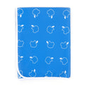Baby Plastic Changing Sheet - Blue (15222)