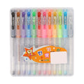 Flash Glitter Pen - 12 Pcs (801-12)