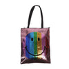 Smiley Emoji Hand Bag - Purple (4546)