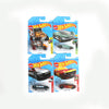 Hot Wheels Die Cast Car Set - Pack Of 4 (42-250)