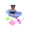 Doll Bath Tub Toy For Kids - Purple (669-551A)