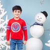 Superman Woolen Sweater For Boys - Red (BS-01)