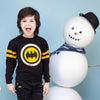 Batman Woolen Sweater For Boys - Black (0401)