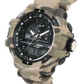 Q&Q Original Wrist Watch For Boys - Camouflage (GW86J005Y)