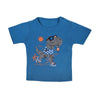 Dinosaur T-Shirt For Boys - Blue (BTS-003)