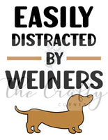 Easily Distracted By Weiners Transfer