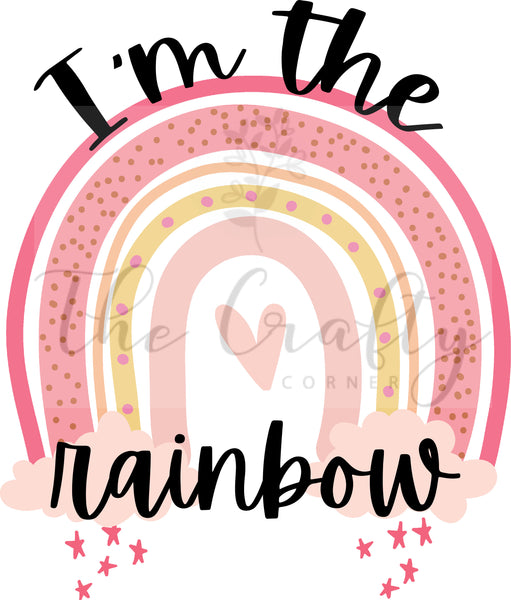 I'm The Rainbow Design Download