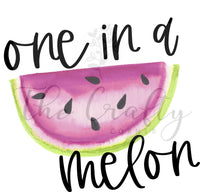 One In A Melon Design Download