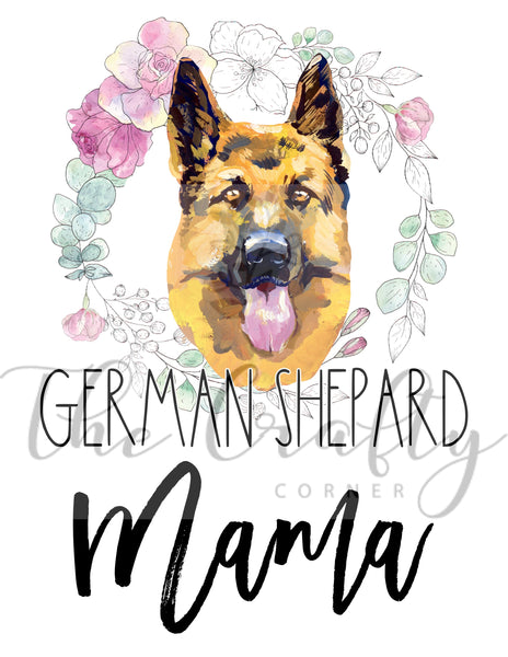 German Shepard Mama Transfer