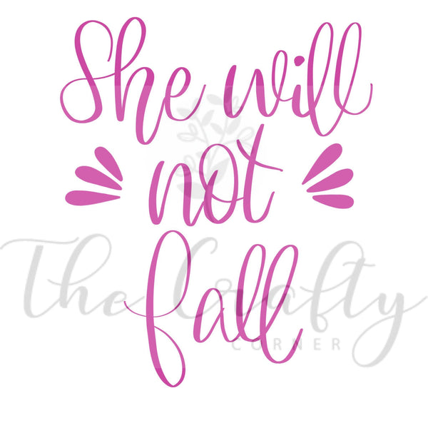 She Will Not Fall Transfer