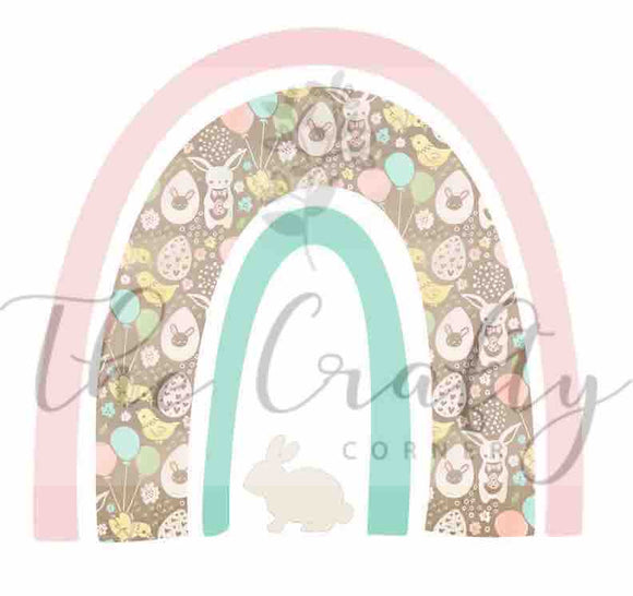 Easter Rainbow Transfer