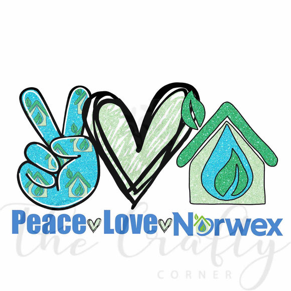 Peace Love Norwex Transfer