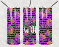 Classy Witch Tumbler Wrap