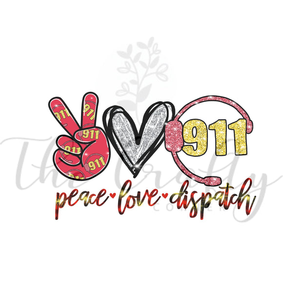 Peace Love Dispatch Transfer