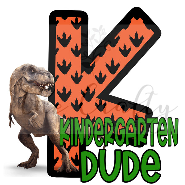 Kindergarten Dude Transfer