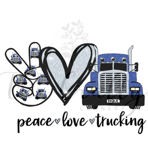 Peace Love Trucking Transfer