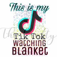 TikTok Watching Blanket Transfer