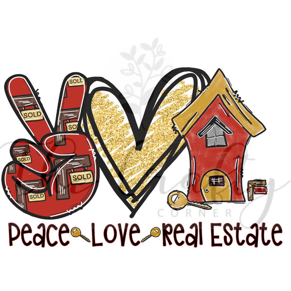 Peace Love Real Estate Transfer