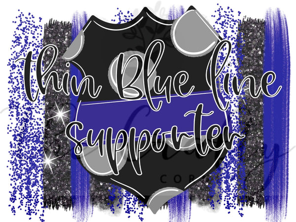 Thin Blue Line Supporter Transfer