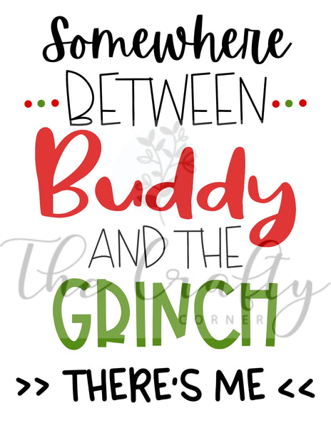Between Buddy And The Grinch Transfer