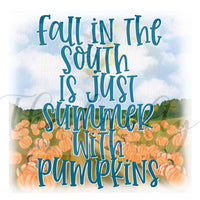 Fall In The South Transfer