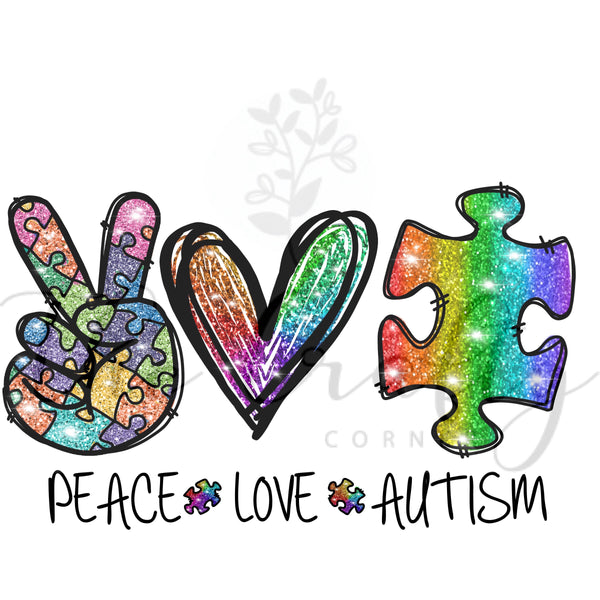 Peace Love Autism Transfer