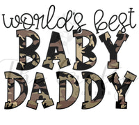 World's Best Baby Daddy Transfer