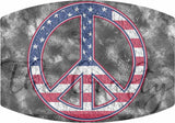 USA Peace Sign Mask Transfer