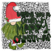 Gnomin' Merry Christmas Transfer
