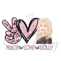Peace Love Dolly Transfer