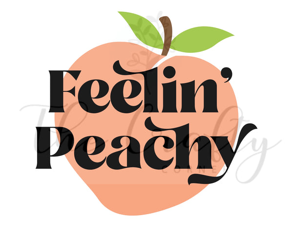 Feelin' Peachy Transfer