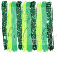 Glitter Brush Strokes