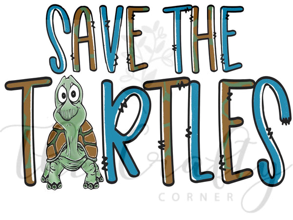 Save The Turtles Transfer