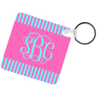 Square Two Sided Keychain Blank