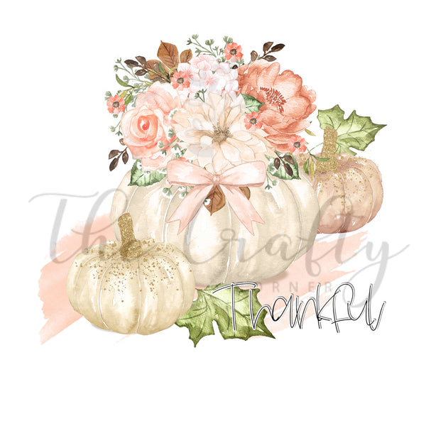 Thankful Pumpkin Set Transfer