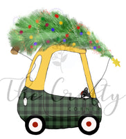 Cozy Coupe Christmas Tree Transfer