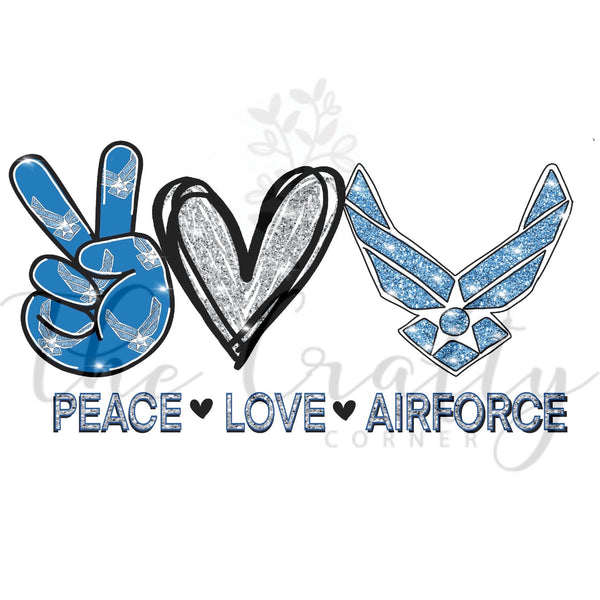 Peace Love Airforce Transfer
