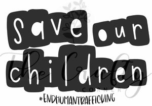 Save Our Children Mask Transfer