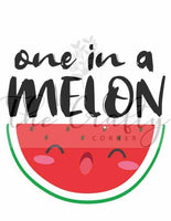 One In A Melon Transfer