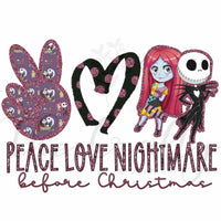 Peace Love Nightmare Transfer