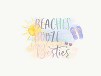 Beaches Booze & Besties Transfer